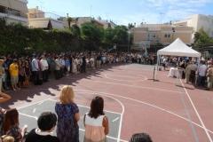 Τελετή αγιασμού 2012