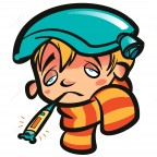 cartoon-sick-boy-head-thermometer-scarf-ice-bag-patient-sad-kid-his-mouth-indicating-high-temperature-orange-yellow-42277636