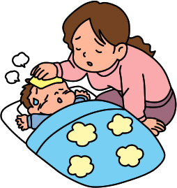 mother-caring-for-sick-baby