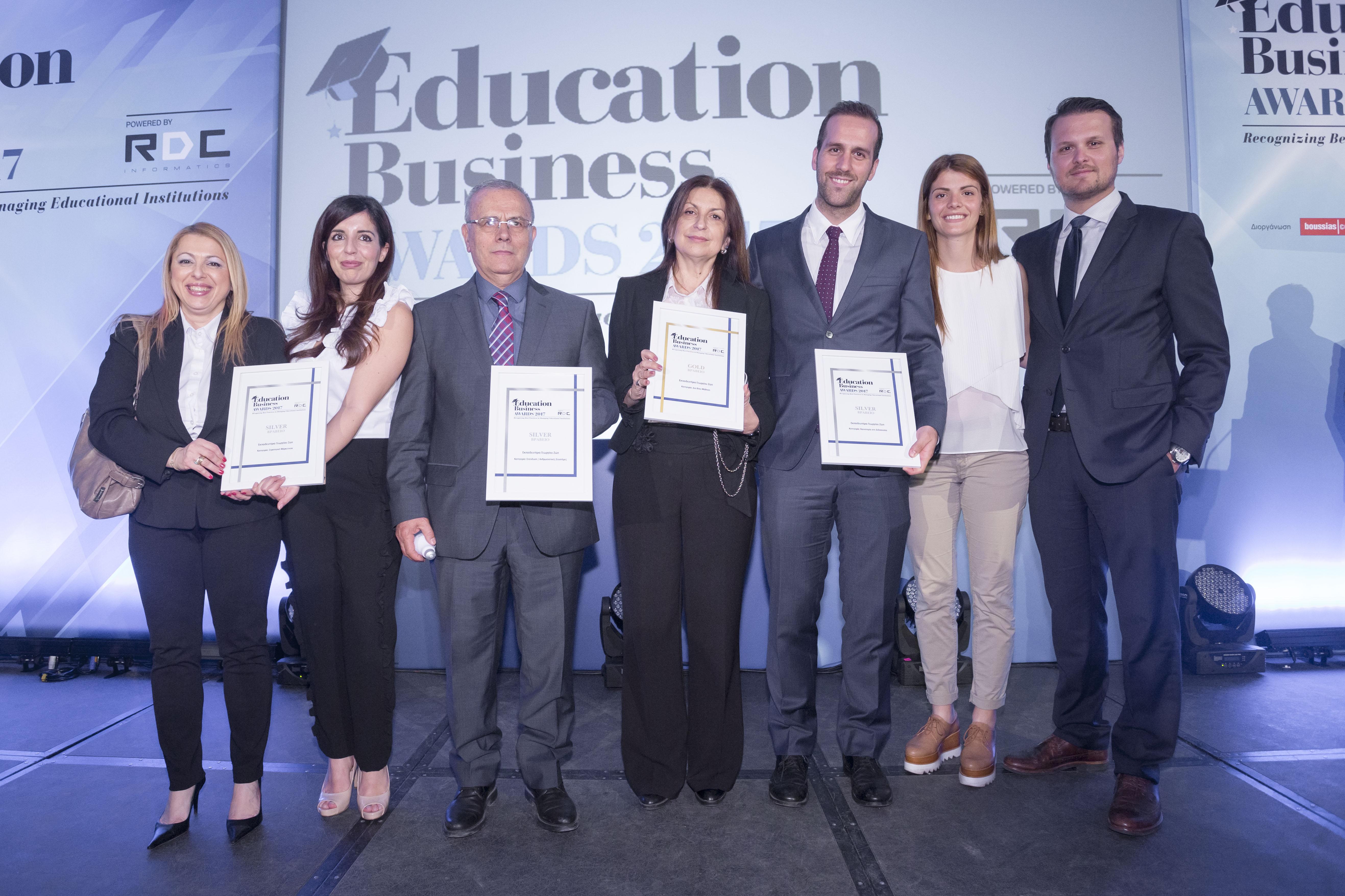 βραβεία education awards ιδιωτικό σχολείο