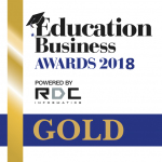Education business awards GOLD
